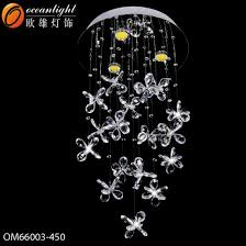 fiber optic led chandeliers pendant lightingom061