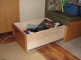 Rv Cabinet Drawer Latches Rvnet Open Roads Forum Large Storage Drawer Under The Bench Seat