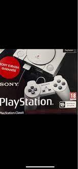 Bodrum içinde, ikinci el satılık Playstation 1 nostarjik oyu