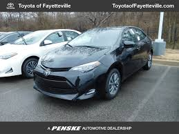 2018 New Toyota Corolla XLE CVT at Toyota of Fayetteville Serving ...
