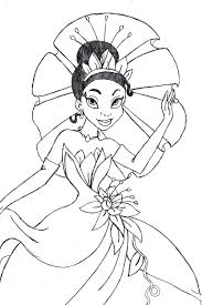 More disney princesses coloring pages. Coloring Pages Disney Princess Tiana Coloring Pages