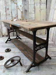 industrial furniture ideas. 60 Ideas To Recycle Your Old Sewing Machines Upcycled Furniture Industrial L