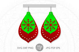 You can copy, modify, distribute and perform the work, even for commercial purposes. Free Svgs Download Christmas Earring Svg Stacked Earring Cut Files Free Design Resources