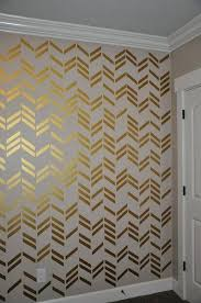 removable and reusable vinyl wall decals the look and visual impact of wallpaper without the chevron