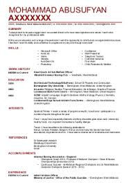 Cv Template For Architects. Senior Architect Resume Samples Visualcv ...