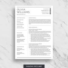 Business Analyst Modern Resume Template Professional Resume Template For Word Modern Resume Design Cv Template For Word 2 Page Resume Download Minimalist Resume Template