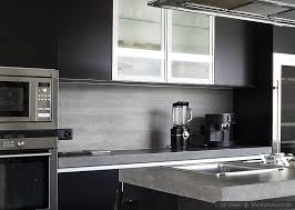 Small Picture MODERN KITCHEN Backsplash Ideas Black Gray Tiles