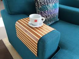 Couch Tray Table Bamboo Sofa Tray Tables So Thats Cool