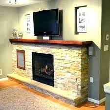 contemporary fireplace mantels with wood mantel wooden shelves