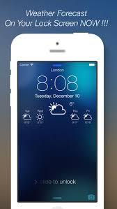 HiPStorebi Tải miá …n ph app Weather Lock Screen Designer Plus