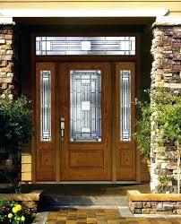 fiberglass entry doors with sidelights front door solid core interior exterior s32
