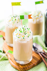 irish flags with shots dress up those st patrick s day inspired drinks with these