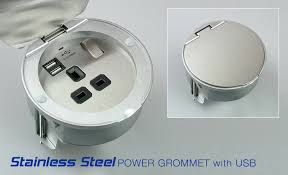 grommets power grommets stainless steel power grommet with usb