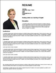 teacher job resumes how to create a great web resume for english teaching jobs abroad