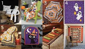 Halloween Quilt Patterns, Kits and More for Happy Seasonal ... & From Halloween placemats to throw quilts perfect for snuggling up under  while watching your favorite spooky movies, these quilt kits are sure to  please! Adamdwight.com