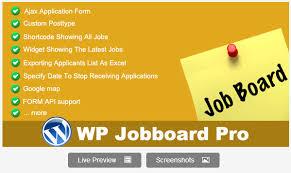 Wordpress stellenanzeigen plugin