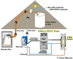 how to wire switches Dpdt Switch Wiring Diagram To Two Loads 3 way switch and 3 way timer neutral wire not needed for this installation st01c programmable timer requires no neutral since timer has battery SPDT Switch Wiring Diagram