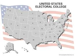 Electoral College Vote Chart United States Electoral College Votes By State Britannica