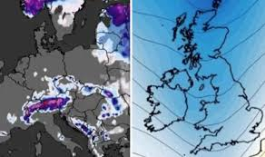 Weather Tree Chart Europe Braces For Snow As Shock Weather Chart Shows 90