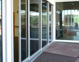 retractable glass doors retractable glass doors commercial sliding door incredible wall amazing cost of retractable glass