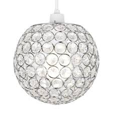 modern acrylic crystal ceiling pendant light shade jewel ball chandeliers decor