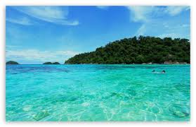 blue sea ultra hd desktop background