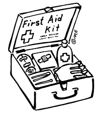first aid coloring pages. Interesting Pages Coloring Page First Aid Kit In Pages Pinterest