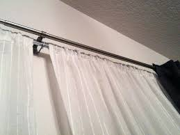 Double rod curtain ideas Sheer Curtains Incredible Double Rod Curtain Ideas Diy Double Curtain Rod Ideas Dehengme Incredible Double Rod Curtain Ideas Diy Double Curtain Rod Ideas