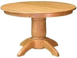 round oak dining table image description oak dining table metal legs