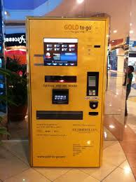 Gold Bullion Vending Machine Impressive Gold Bullion Dispensing Machine Urea International Price
