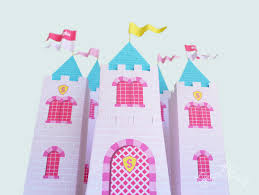 Princess Party Decoration Castle Favor Box Kit Princess Party Party Favor Favors
