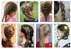 Прически для девочек плетения