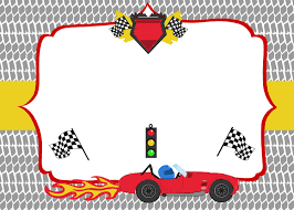 Free Party Invites Templates Free Printable Race Car Birthday Party Invitations Updated