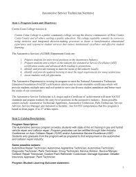 Narative Automotive Service Technician Doc 303kb Sep 04 2014