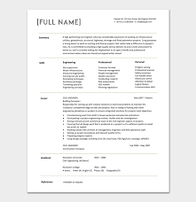 years experience resumes civil engineer resume template 5 samples for word pdf format