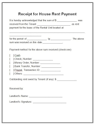 House Rent Bill Sample 12 House Rent Receipt Formats Free Printable Word Excel