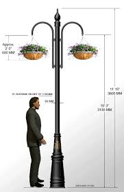 garden pole. Street Ings Outdoor Lighting Cast Iron S Harte Garden Pole R