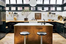 These 20 Black Kitchens Make a Stylish Impact Photos | Architectural Digest
