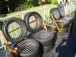 unusual outdoor furniture. car tyre garden furniture free delivery full set unusual outdoor d