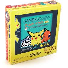 Pikachu Gameboy Light Game Boy Light Console Pokemon Center Tokyo Pikachu