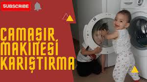 Uzun Versiyon Camasir makinesi karistirma 😀#yenivideo#cocuk#eglence -  YouTube