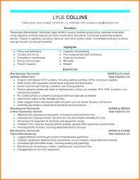 Hvac Resume Mesmerizing Hvac Resume Template Mechanic Resume Templates Format Hvac Site