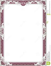 рамка диплома сертификата иллюстрация штока иллюстрации  рамка диплома сертификата