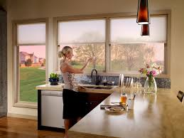Window Treatment For Kitchen Kitchen Window Treatment Ideas 3 Blind Mice Window Coverings