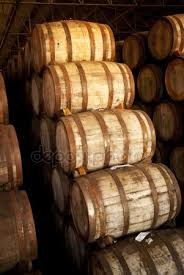 stacked oak barrels maturing red wine. Stacked Oak Barrels Maturing Red Wine. Wine G R