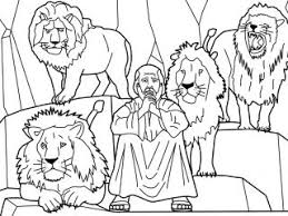 Small Picture Line Drawings Daniel And The Lions Den Coloring Page New In Decor