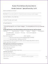 Vendor Booth Registration Form Template Event Vendor Form Template