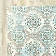 brown area rug 8x10 aqua and brown area gs gray g blue beige target garage cute