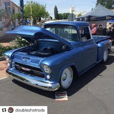 Truck chevy 1955 truck : 1955 Chevy Truck by Double Z Hot Rods