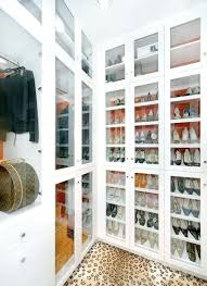 cabinet closet glass doors in walk in closet shoe display in glass cabinet cabinet closet systems